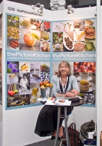thePictureKitchen stand at BAPLA\'s PBF with me sitting rather hotly in front of it!