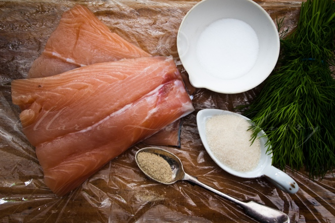 Making Gravlax the Swedish way