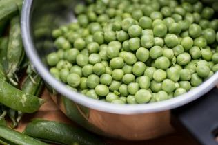 Real peas