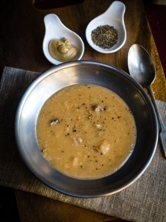 Ärtsoppa, Swedish yellow pea soup