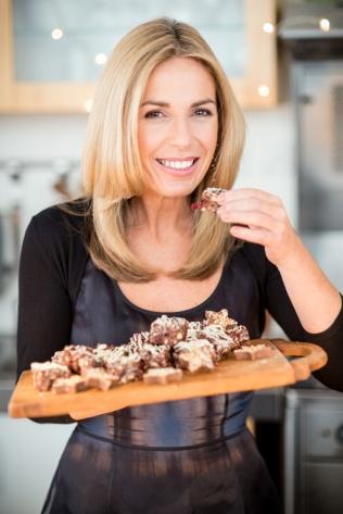 Alexandra Hollywood with fridge cake squares