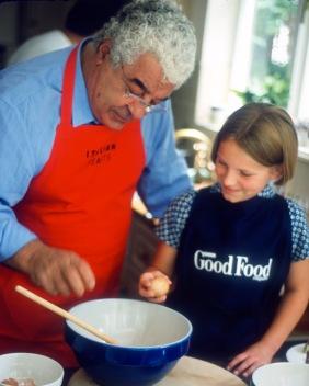 Antonio Carluccio and child